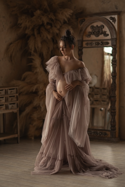 EMMA maternity gown for photoshoot