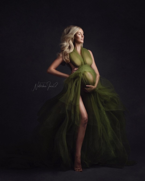 SERENA Maternity Gown for Photoshoot