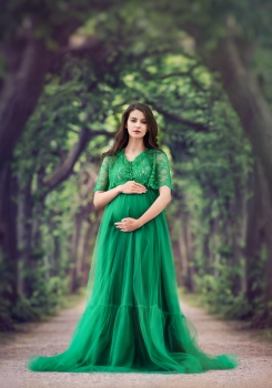 CHLOE Maternity gown for Photoshoot or Babyshower